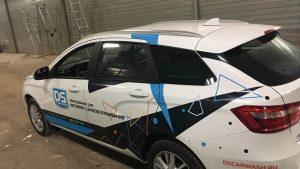 Оклейка авто для D&S Technologies