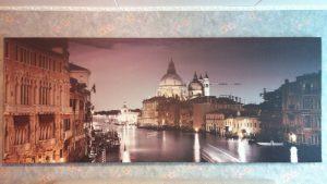 Вечерняя Венеция, холст